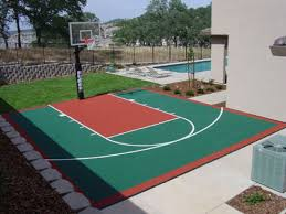 Home Basketball Court Design Indoor Home Basketball Courts With - Home basketball court design