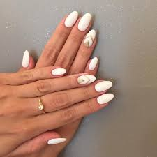 white gel nails with design images nail art designs