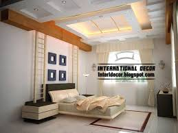 Modern Pop False Ceiling Designs For Bedroom Interior Gypsum - Ceiling ideas for bedrooms
