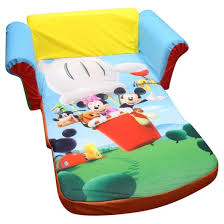 sofa chair for toddler mickey mouse children u0027s 2 in 1 foam flip open sofa marshmallow
