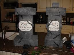 halloween headstones 4 awesome but cheap creepy diy halloween decorations diy inspired
