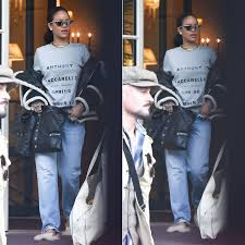 rihanna wearing adam selman x le specs the hunger silver cat eye