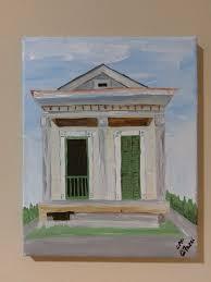 New Orleans Shotgun House Louisiana Flair Paintings U2013 C P F Paintings