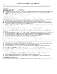 Sample Resume Objectives Military by Image Gallery Of Merry Security Guard Resume Sample 7 Officer