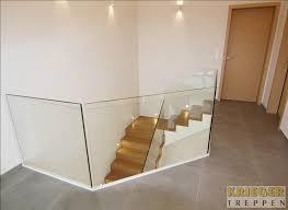 holz fã r treppen glasgeländer für ihre treppe krieger treppen