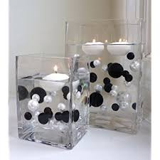 Black And White Vases Amazon Com 95 Red U0026 White Pearls With Gems Accents Vase Fillers