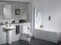 white tiled bathroom ideas modern white bathroom tile decorating ideas houseofphy