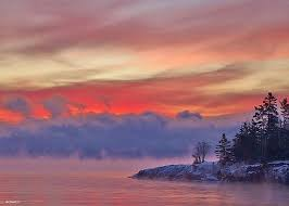 lake superior sea smoke jan swart artwork for sale two harbors mn united states page