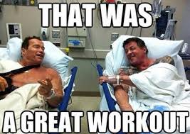 Funny Workout Memes - that was a great workout memes and comics