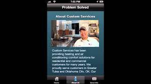 Air Comfort Solutions Tulsa Ok Plumbing App Plumber App Business Iphone App Plumning U0026 Hvac