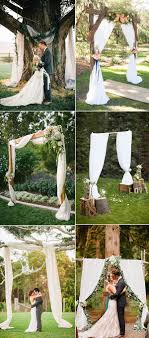 Rustic Backyard Ideas Wedding Best Wedding Arches Images On Pinterest Rustic Backyard