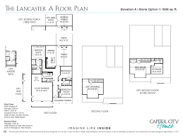 new home floorplan the lancaster capitol city homes