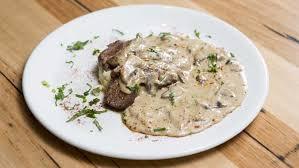 turkey mushroom gravy review by mr g u0027s roast turkey breast traditional stuffing and bourbon gravy
