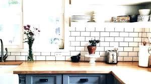 kitchens with subway tile backsplash white subway tile backsplash aerotalk org