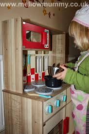 Childrens Wooden Kitchen Furniture Mellow Mummy Asda George Home Wooden Toys A Wooden Kitchen