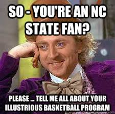 You Re A Towel Meme - nc state makes biggest blowout list in history twice
