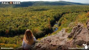 fall scenic route michigan