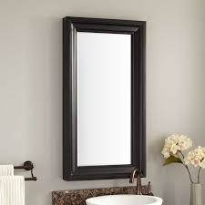karryna mahogany vanity mirror black bathroom