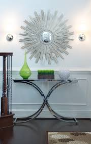 Modern Entryway Table Amazing Modern Entryway Table With Beautiful Decorations Wall
