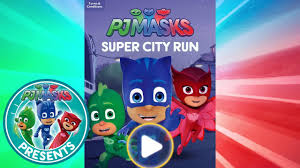 pj masks creations pj masks app super run