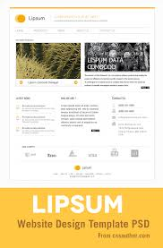 website templates free download psd 10 minimalist responsive and simply awesome web design template