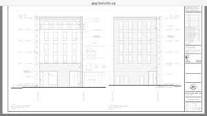 One Bloor Floor Plans 918 Bloor St W 5s Mixed Use Sirlin Giller U0026 Malek