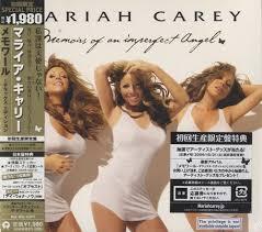 carey memoirs of an imperfect japanese cd album cdlp
