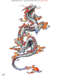chinese dragon tattoo design dragon tattoo commission by yuumei deviantart com on deviantart