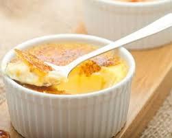 bergamote cuisine recette crème brûlée à la bergamote facile rapide