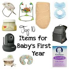Top 10 Must Baby Items by Top 10 Items For Baby S Year Raising Seraphim