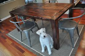 Build It  Decor And The Dog - Building your own kitchen table