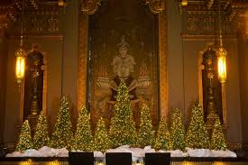 Christmas Decorations For Commercial Buildings by Christmas And Holiday Displays Walter Knoll Florist Commercial