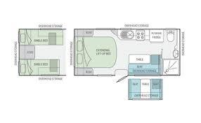 Caravan Floor Plans Jayco Australia Starcraft Caravan
