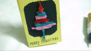 5 christmas tree greeting card designs for kids youtube