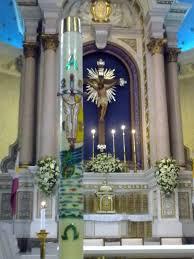 vigil lights catholic church paschal candle wikipedia