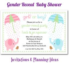 reveal baby shower the invitation shop party the invitation shop