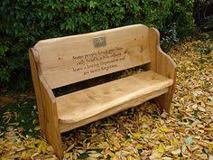 memorial benches hull s memorial bench crafts bench