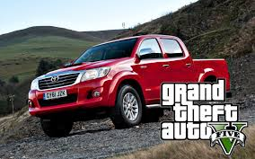 toyota hilux red toyota hilux offroad gta v youtube