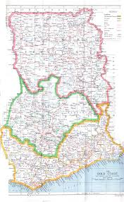 Detailed Map Of Africa by Maps Of Ghana Map Library Maps Of The World