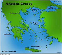 blank map of ancient greece ancient geography thinglink