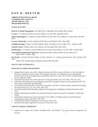 Disney Resume Example by Basic Zoo Keeper Resume Template