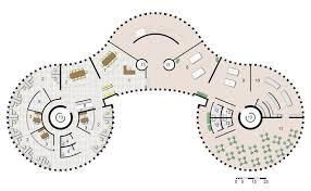 admin building floor plan marked potential police administration building sg23 design
