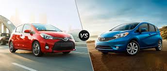 nissan note 2015 2015 toyota yaris hatchback vs 2015 nissan versa note