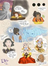 legend of korra all up in it by themadwoman ellie on deviantart