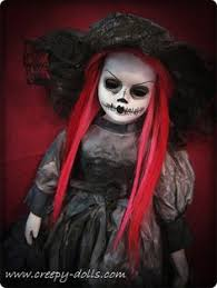 Scary Baby Doll Halloween Costume Ooak Goth Vampire Reborn Mohawk Berenguer Hand Painted Baby Doll