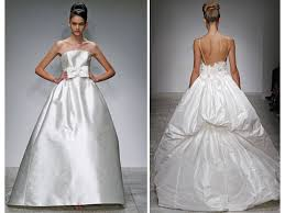 high wedding dresses 2011 and shiny bridal updo from amsale s 2011 bridal runway show