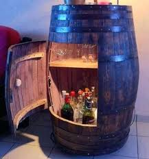 wine barrel liquor cabinet liquor bottle display cabinet this wine barrel converted into a