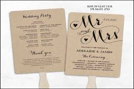 cheap wedding programs wedding program fans cheap evgplc