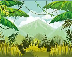 jungle backdrop jungle backdrop etsy