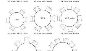 8 person round table size round table for 8 dosgildas com